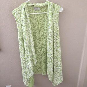 Tops - Light green wrap